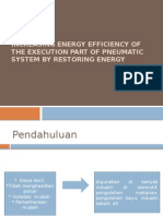 Increasing Energy Efficiency of the Execution