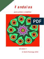 Mandalas Para Pintar y Meditar Vol 4