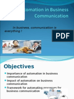 4538_BPA Chapter Four Automation in Business Communication.ppt