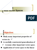 CH6.1-6.4 Real Vector Space