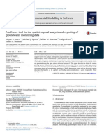 A Software Tool for the Spatiotemporal Analysis and Reporting Of