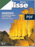 Guida Turistica Provincia Agrigento dell'Alitalia 2003 in Italiano e Inglese, English