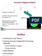FEA-Based Acoustic Fatigue Analysis Methodology - SWRI