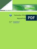 Cliente VPN Mobile TheGreenBow - Hoja de Producto