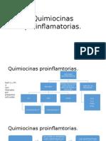 Quimiocinas proinflamatorias