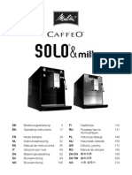 User Manual Melitta Cafeo Solo
