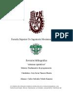 Revision Bibliografica de sistemas operativos