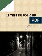 Test comparatif des policiers
