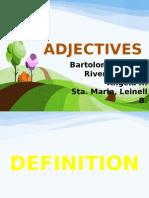 Kinds of Adjectives