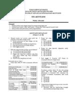 Contoh Soal Akuntansi USM D IV