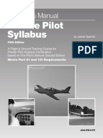 The pilot manual -private pilot syllabus