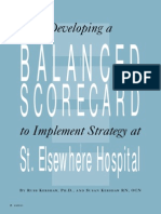 Balanced Scorecard StElse