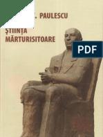 Doctorul Nicolae C. Paulescu Sau Stiinta Marturisitoare