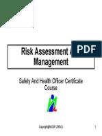 8 Risk Assessment