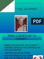 Carnet Del Gourmet Presentacion