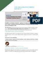 diversified hiring & workforce
