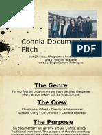 connla documentary pitch