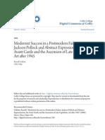 Modernist Success in a Postmodern Failure- Jackson Pollock and Ab.pdf