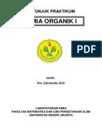 Petunjuk Praktikum Kimia Organik I.pdf