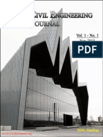 1st Issue of Civil Engineering Journal