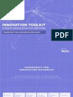 Innovation Policy Toolkit - Tradecraft for Innovation Diplomats