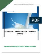 Identificacion Del Alergeno Leche