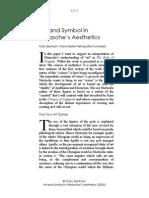 Art and Symbol in Nietzsche's Aesthetics