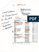 Notes - Cards - Receipt From Lobby Efforts in PA Legislature 2015 Updated December 7, 2015