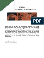 FUBÁ Communiqué de Presse Fr