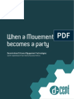 When a Movement Becomes a Party