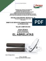 Anàlisis Objeto Técnico El abrelatas