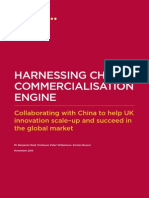 Harnessing China's Commercialisation Engine