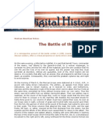 Batalla de Alamos según Filisola