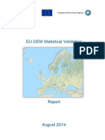 Report EU DEM Statistical Validation August2014