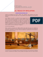 Criminal Trials in Singapore