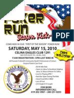 Poker Run Flyer