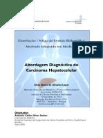 Abordagem Diagnstica Do Carcinoma Hepatocelular