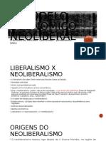 O Neoliberalismo
