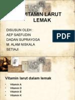 Kel 8 (Vitamin Larut Lemak)