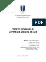 Informe Final Pasantia 2013