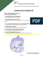 Cuestionario Exámen TRS