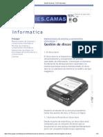 Gestión de Discos - PCPI Informatica
