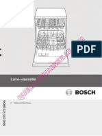 Bosch Lave Vaisselle Notice