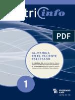 Articulo Glutamina en el paciente estresado