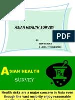 Presentation-Asian Health Survey