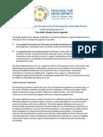 DESA Briefing Note Addis Action Agenda