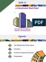 ISAK 21 Perjanjian Konstruksi Real Estate 120212