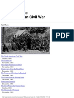Marx Engels Writings on the North American Civil War