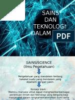 Teknologi Dan Sains Dalam Islam