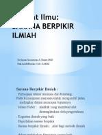 Filsafat Ilmu 2013